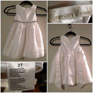 American Princess Toddler Girls Formal Dress